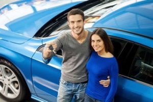 Happy Auto Repair Customers